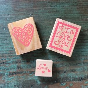 Love & Hearts Stamp Set